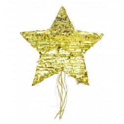 Pull Piñata Stern Gold 57cm