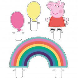 Peppa Pig Figurenkerzen 4 Stück