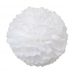 Pom Poms Weiß 2 Stück 40/50cm