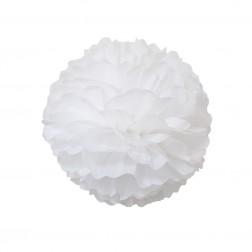 Pom Pom Weiß 35cm