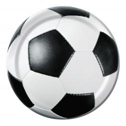 Teller klein Fußball 8 Stück