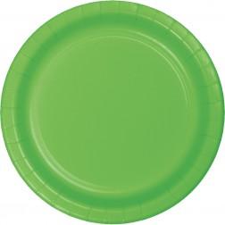 Pappteller Grün 8Stück
