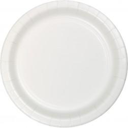 Pappteller Weiß 8 Stück