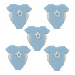 Zuckerdekor Body Blau 5 Stück