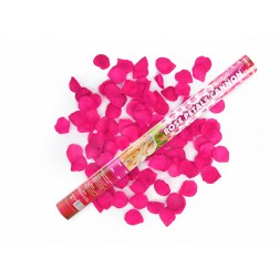 Rosenkanone mit rosa Rosenblätern 60cm