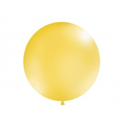 Riesenballon Metallic Gold 1m