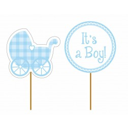 Toppers Its a Boy! 12 Stück