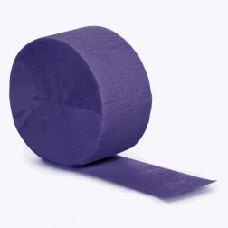 Krepprollen purpur 24,6m