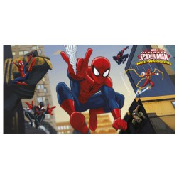 Spiderman Web Warrios Wanddekoration 150 x 77cm