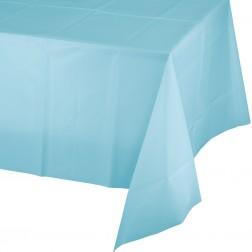 Tischdecke Pastellblau 137 x 274cm