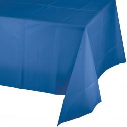 Tischdecke blau 137 x 274cm