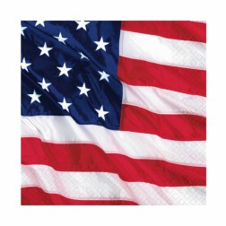 Servietten USA Amerika 16 Stück