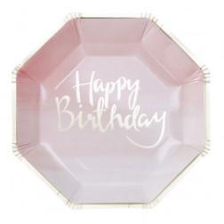 Pappteller Pick and Mix Happy Birthday 8 Stück