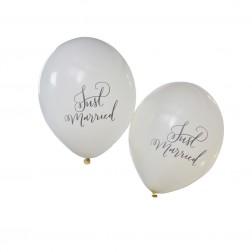 Luftballons Just Married 10 Stück
