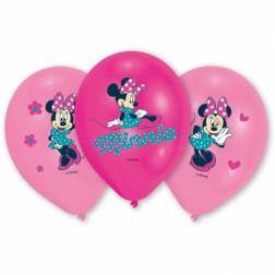 Minnie Maus Ballons 6 Stück