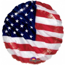 Folienballon Amerika Party 43cm