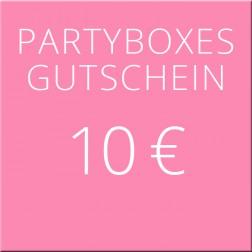 10 Euro Geschenkgutschein