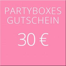 30 Euro Geschenkgutschein