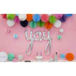 Yay Silver Balloon 114cm
