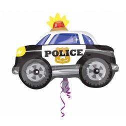 Folienballon Polizeiauto 60cm
