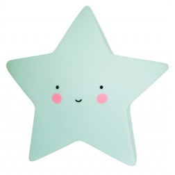 Mini Nachtlicht Stern Star Light mint