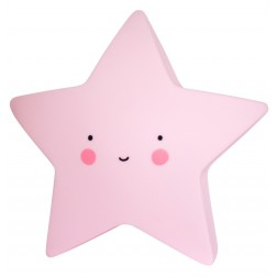 Mini Nachtlicht Stern Star Light rosa