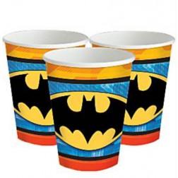 Batman Pappbecher 8 Stück