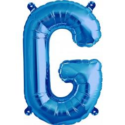Air Folienballon Buchstabe G blau 41cm