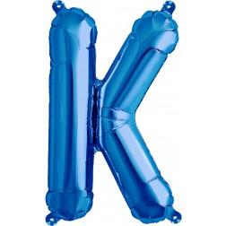 Air Folienballon Buchstabe K blau 41cm