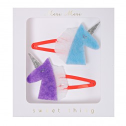 Hair Clips Haarspangen Unicorn 2 Stück
