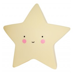 Mini Nachtlicht Stern Star Light gelb