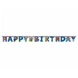 Banner Paw Patrol Happy Birthday 180cm