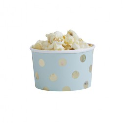 Dessertbecher Pick and Mix Polka Dot mint 8 Stück