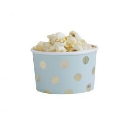 Dessertbecher Pick and Mix Polka Dot mint 8 Stück