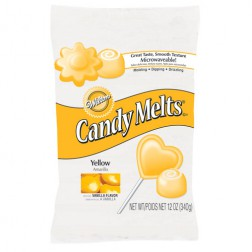 Wilton Candy Melts Gelb 340g