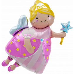 Folienballon Fairy Godmother 91cm
