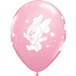Luftballon Minnie Maus 6 Stück