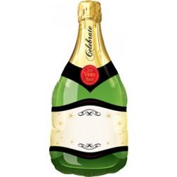 Folienballon Champagne Flasche 91cm