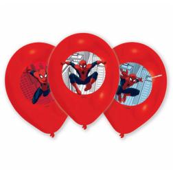 6 Luftballons Spider-Man 27cm