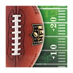 Cocktail Servietten NFL Super Bowl 16 Stück