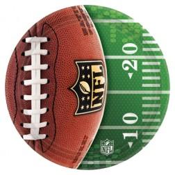 8 Pappteller NLF Super Bowl 26cm