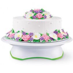 Wilton Drehbare Tortenplatte Trim 'N Turn Ultra Cake Stand