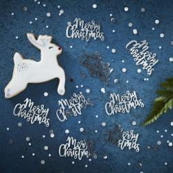 Konfetti Merry Christmas Confetti Silver 14g