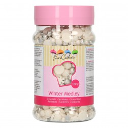 Zuckerperlen Sprinkle Medley Winter 180g