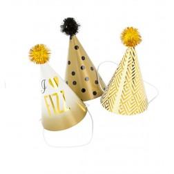 Glitterati mini Party Hats 6 Stück