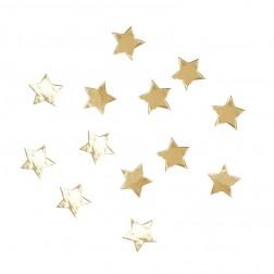 Konfetti gold stern 14g