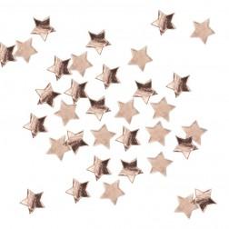 Konfetti Stern Rosegold 14g