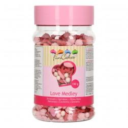 Zuckerdekor Sprinkle Medley Love 180g
