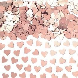 Konfetti Herz rosegold 14g