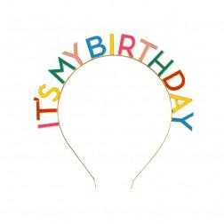 Headband it's My Birthday